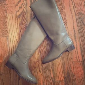 J Crew NIB Field Boots with Extended Calf 8.5